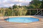 Odyssea houten zwembad rond/ovaal - Helaas, niet meer leverbaar in 2021