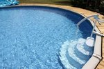 Inlooptrap voor inbouwzwembad