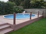 Poollux stalen wand zwembad