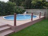 Ingebouwd poollux zwembad