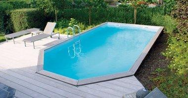 Gardipool Rectoo houten zwembad