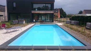 Prefab bouwkundig zwembad Concrete